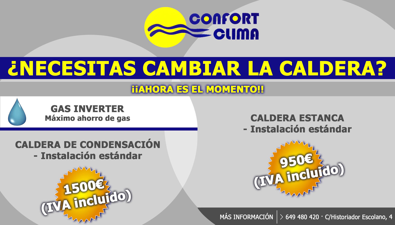 ofertas-calderas-confortclima-javea